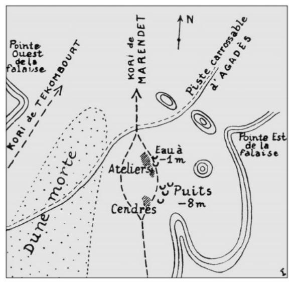 Croquis Lt Prautois - 1953